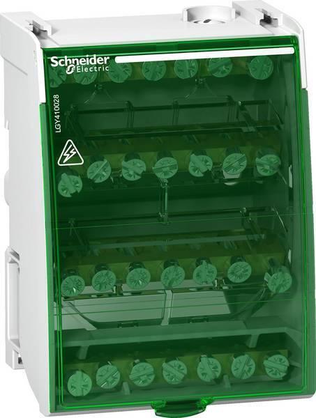 Schneider Electric aansluitblok 4-polig 100A 4X7 aansluitingen (LGY410028)