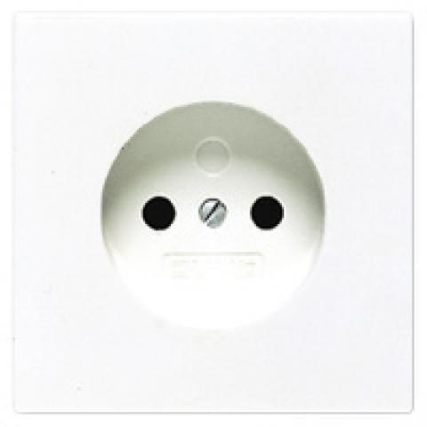 JUNG wandcontactdoos zonder randaarde 16A 250V - LS range alpin wit (LS911NWW)
