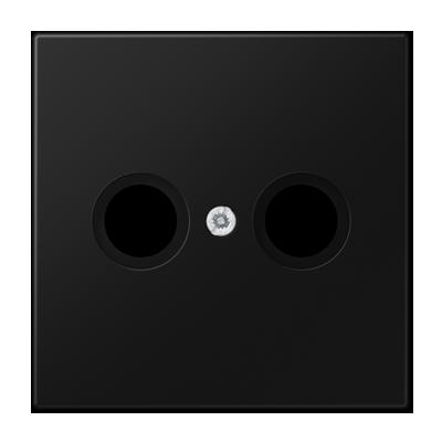 JUNG afdekking LS990 radio/TV - grafietzwart mat (LS990TVSWM)
