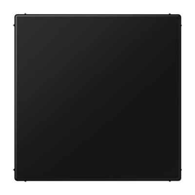 JUNG afdekking LS990 blindplaat - grafietzwart mat (LS994BSWM)