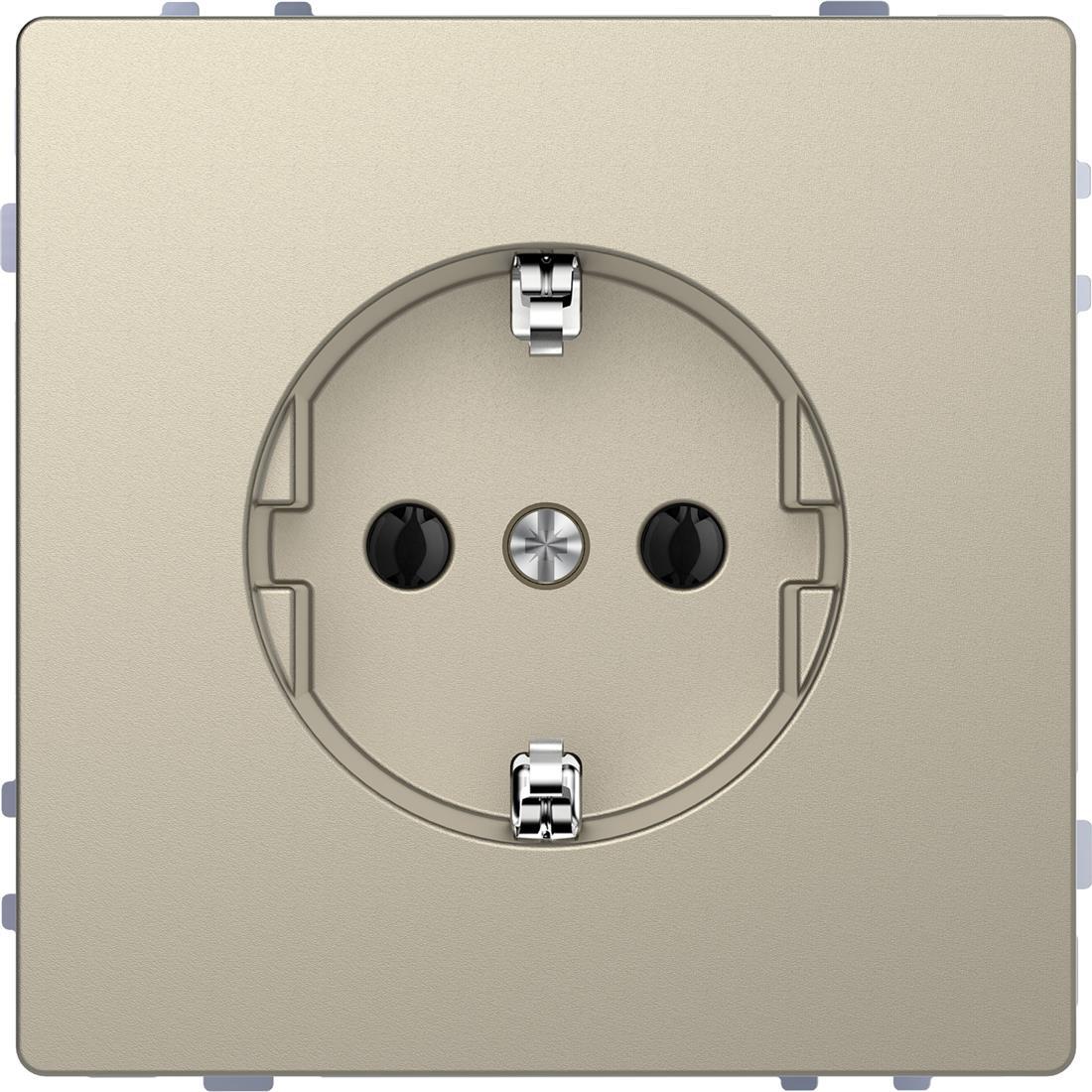 Schneider-Merten D Life wandcontactdoos met steekklemmen - sahara (MTN2301-6033)
