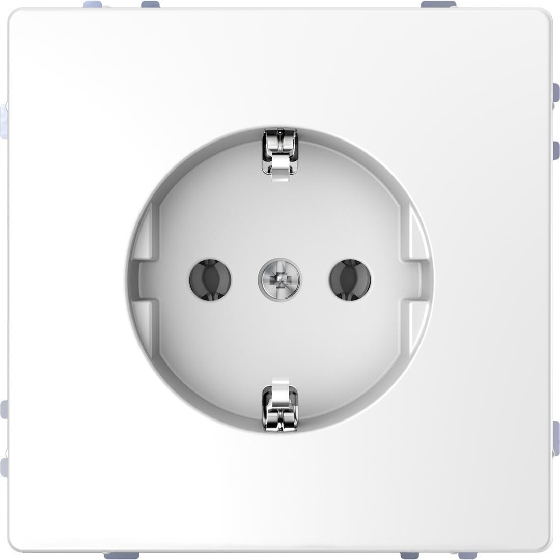 Schneider-Merten D Life wandcontactdoos met steekklemmen - lotuswit (MTN2301-6035)