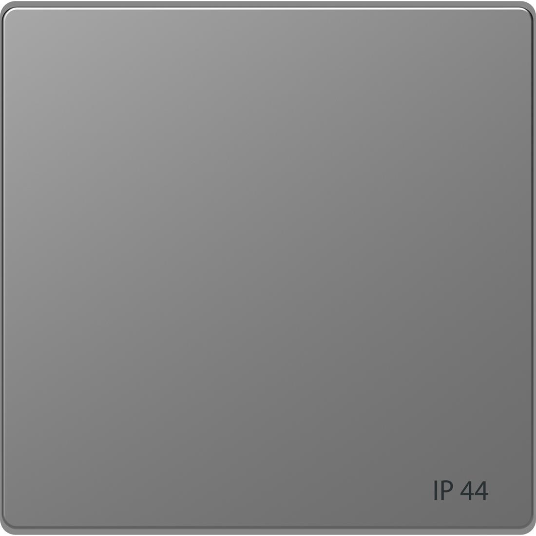 Schneider-Merten D Life wisselwip voor IP44 - RVS look (MTN3304-6036)