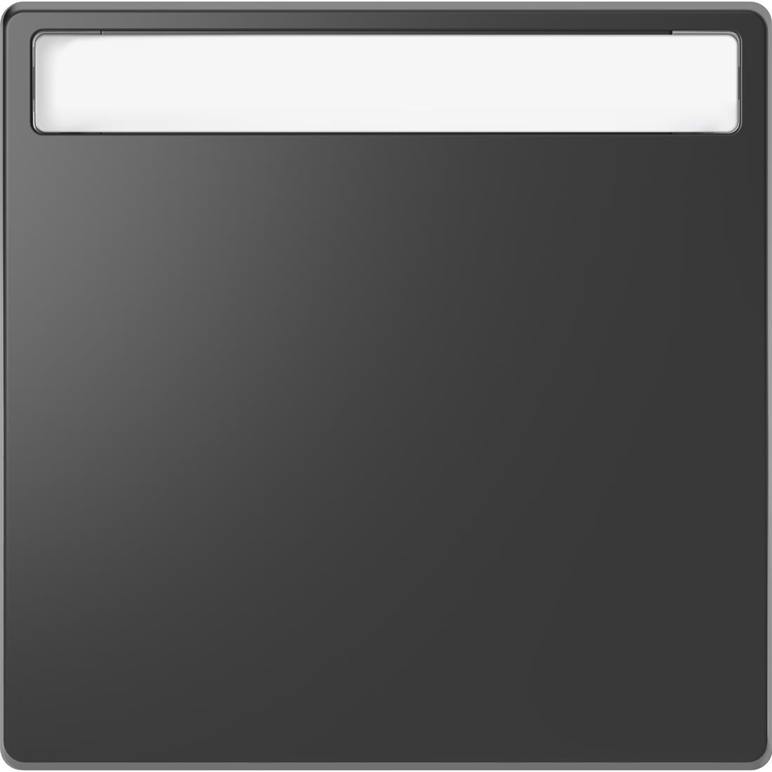 Schneider-Merten D Life wisselwip met controlevenster - antraciet (MTN3360-6034)