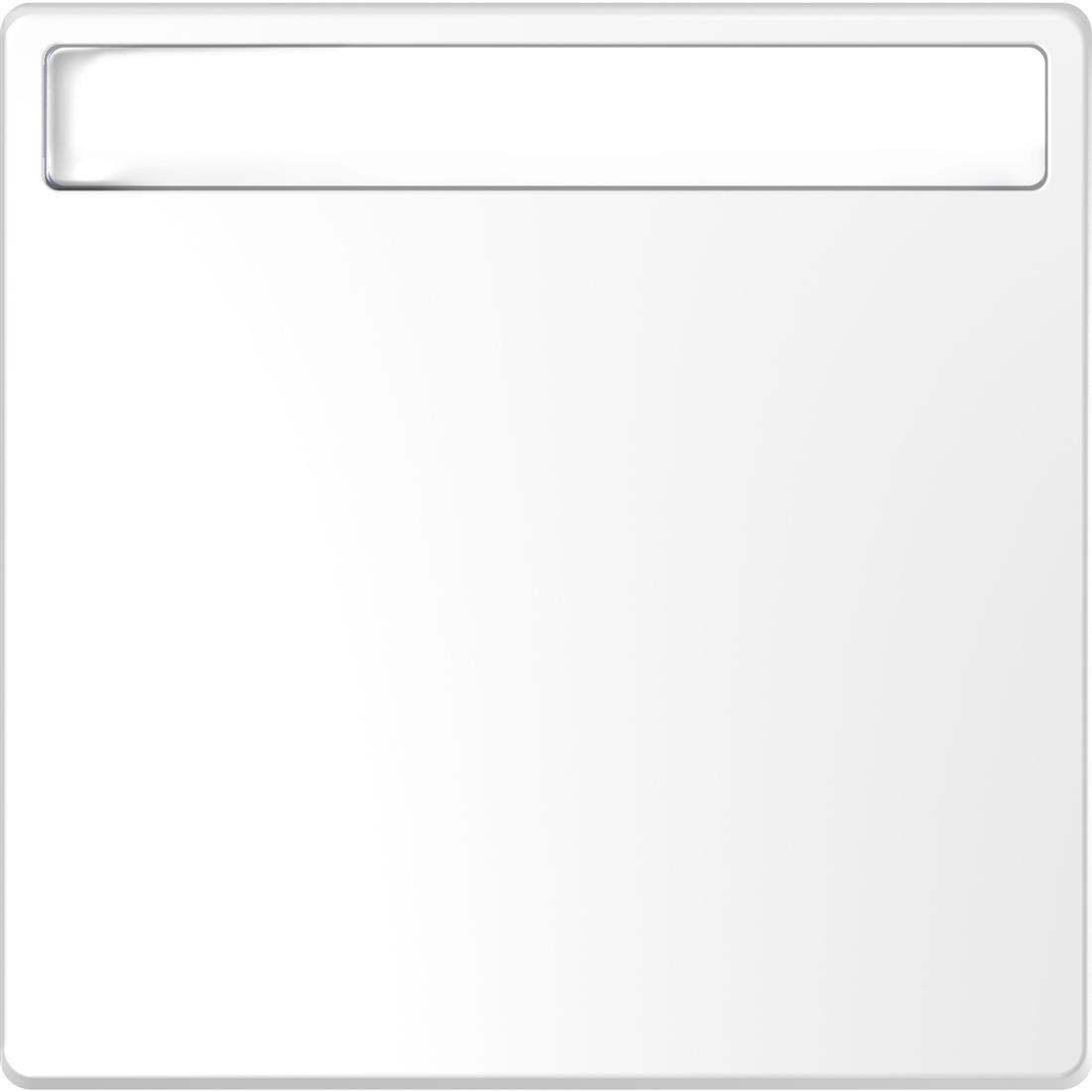 Schneider-Merten D Life wisselwip met controlevenster - lotuswit (MTN3360-6035)