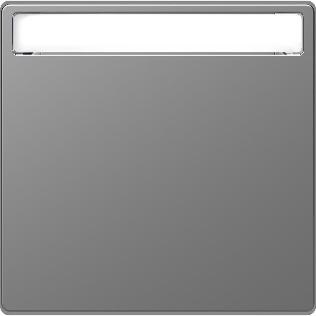 Schneider-Merten D Life wisselwip met controlevenster - RVS look (MTN3360-6036)