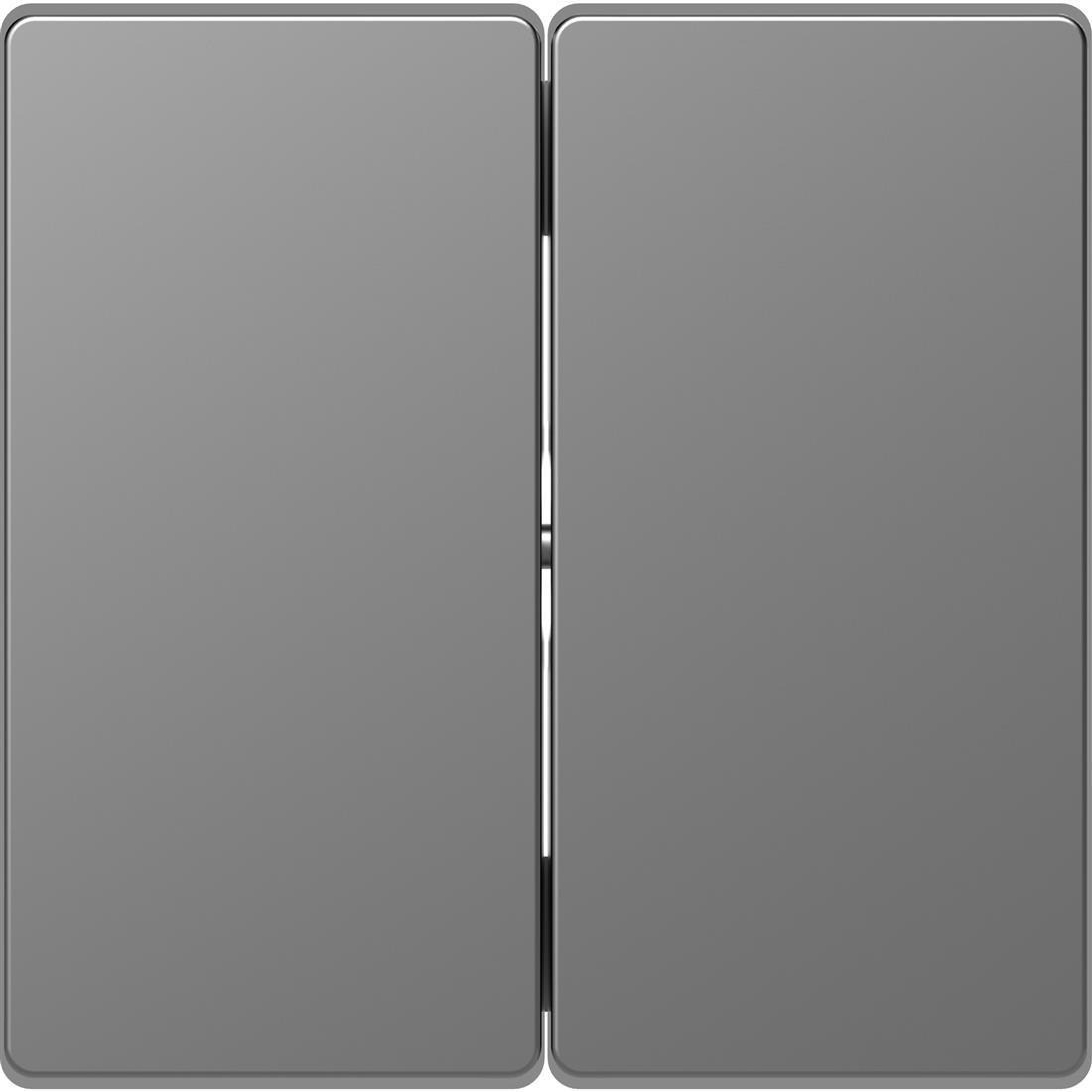 Schneider-Merten D Life schakelwip voor serieschakelaar - RVS look (MTN3400-6036)