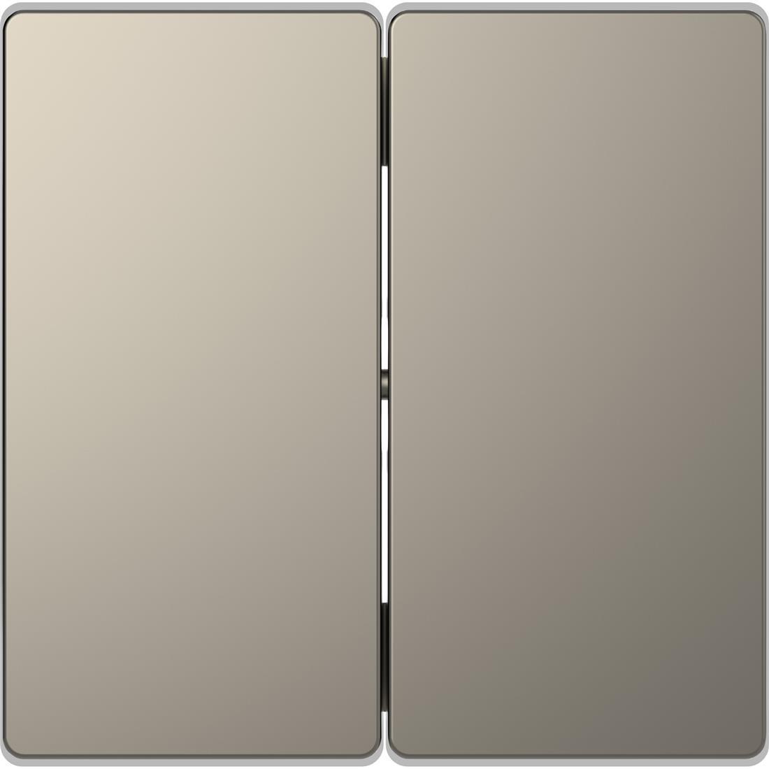 Schneider-Merten D Life schakelwip voor serieschakelaar - nikkel metallic (MTN3400-6050)