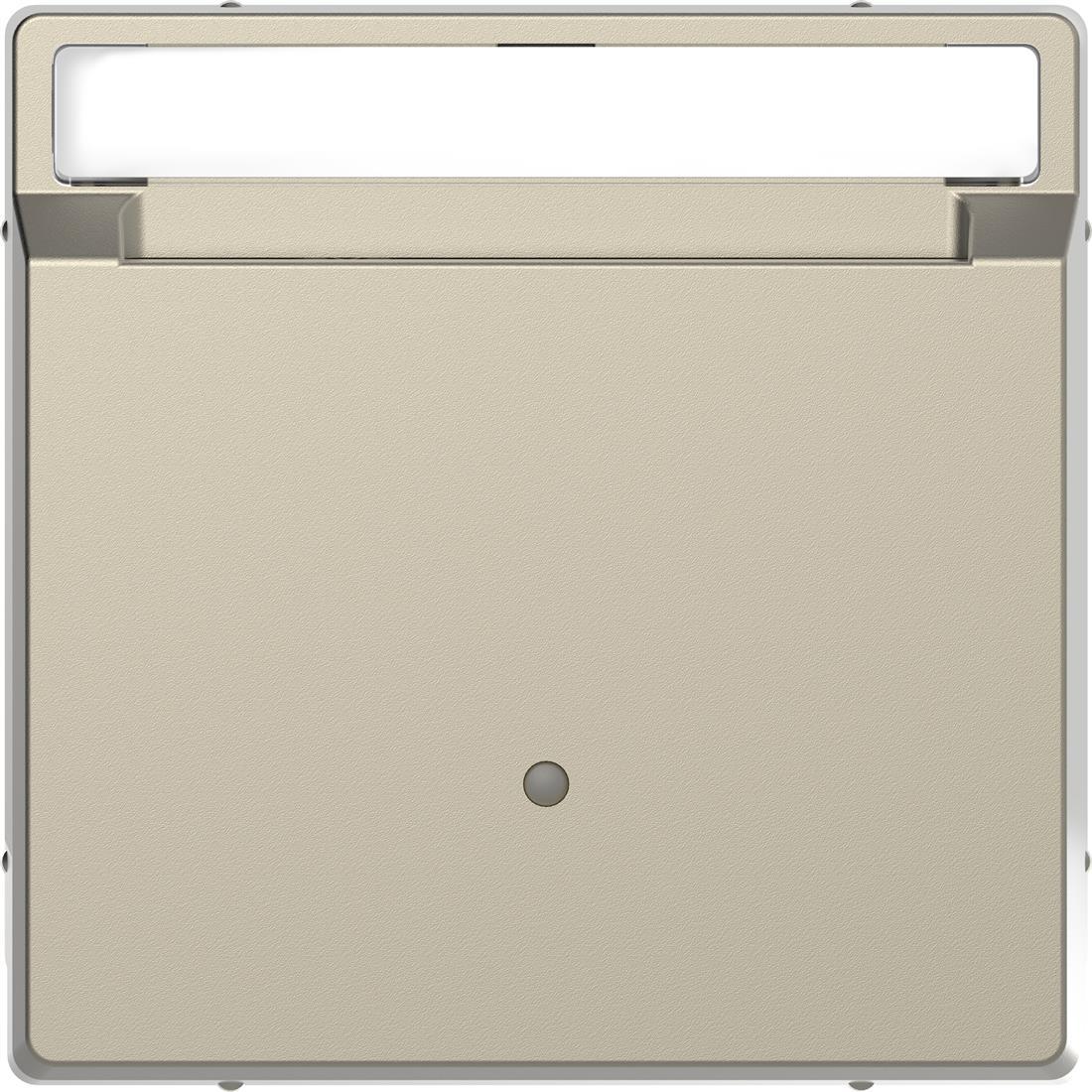 Schneider-Merten D Life kaartschakelaar met tekstvenster - sahara (MTN3854-6033)