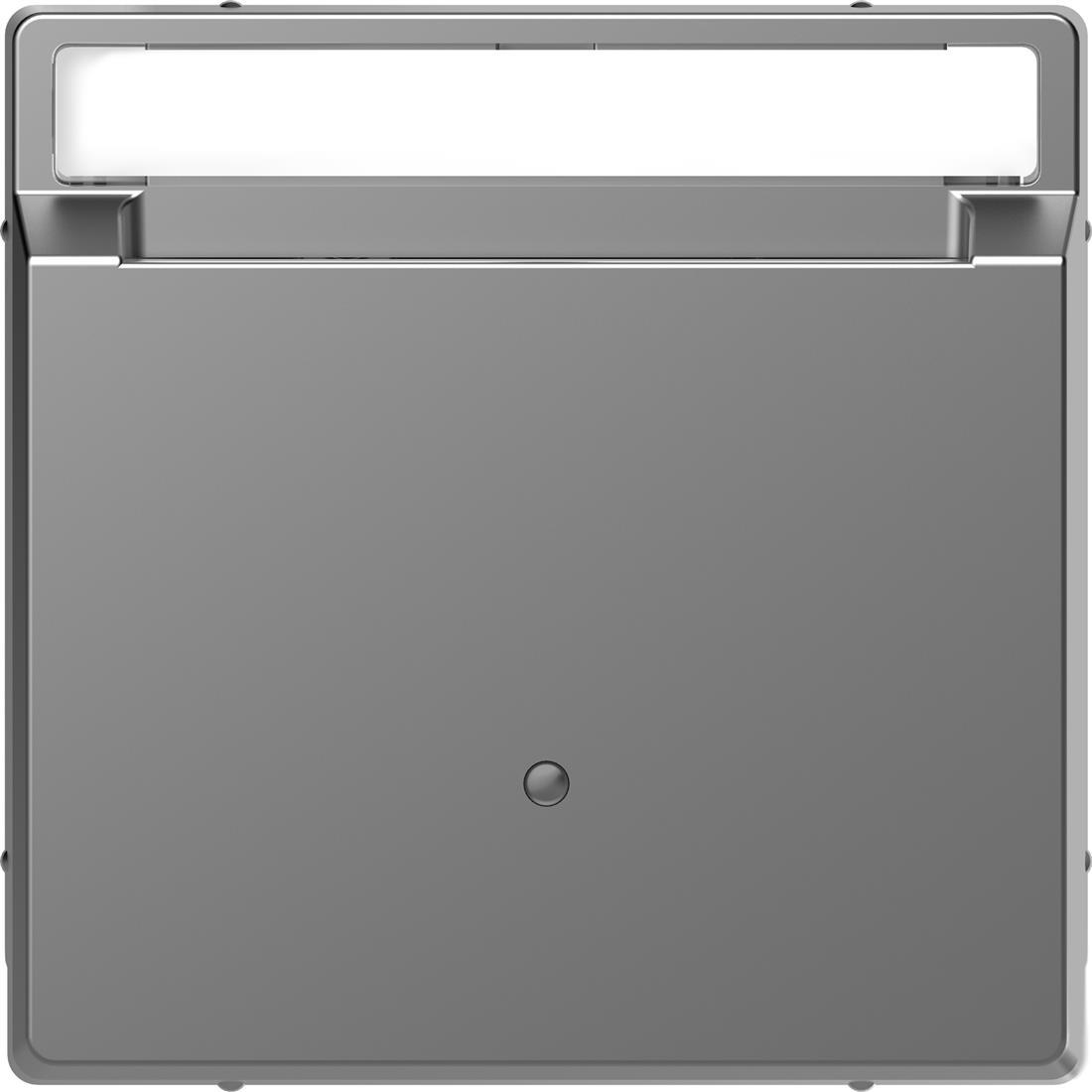 Schneider-Merten D Life kaartschakelaar met tekstventster - RVS look (MTN3854-6036)