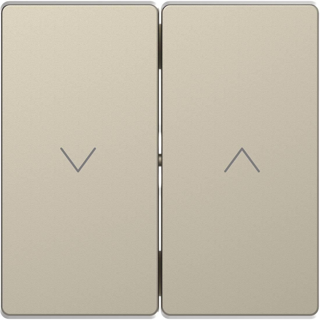 Schneider-Merten D Life seriewip voor jaloezieschakelaar - sahara (MTN3855-6033)