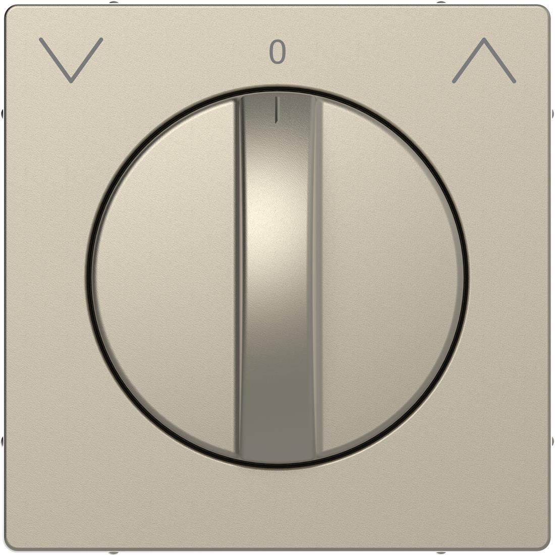 Schneider-Merten D Life centraalplaat voor draai-jaloezieschakelaar - sahara (MTN3875-6033)