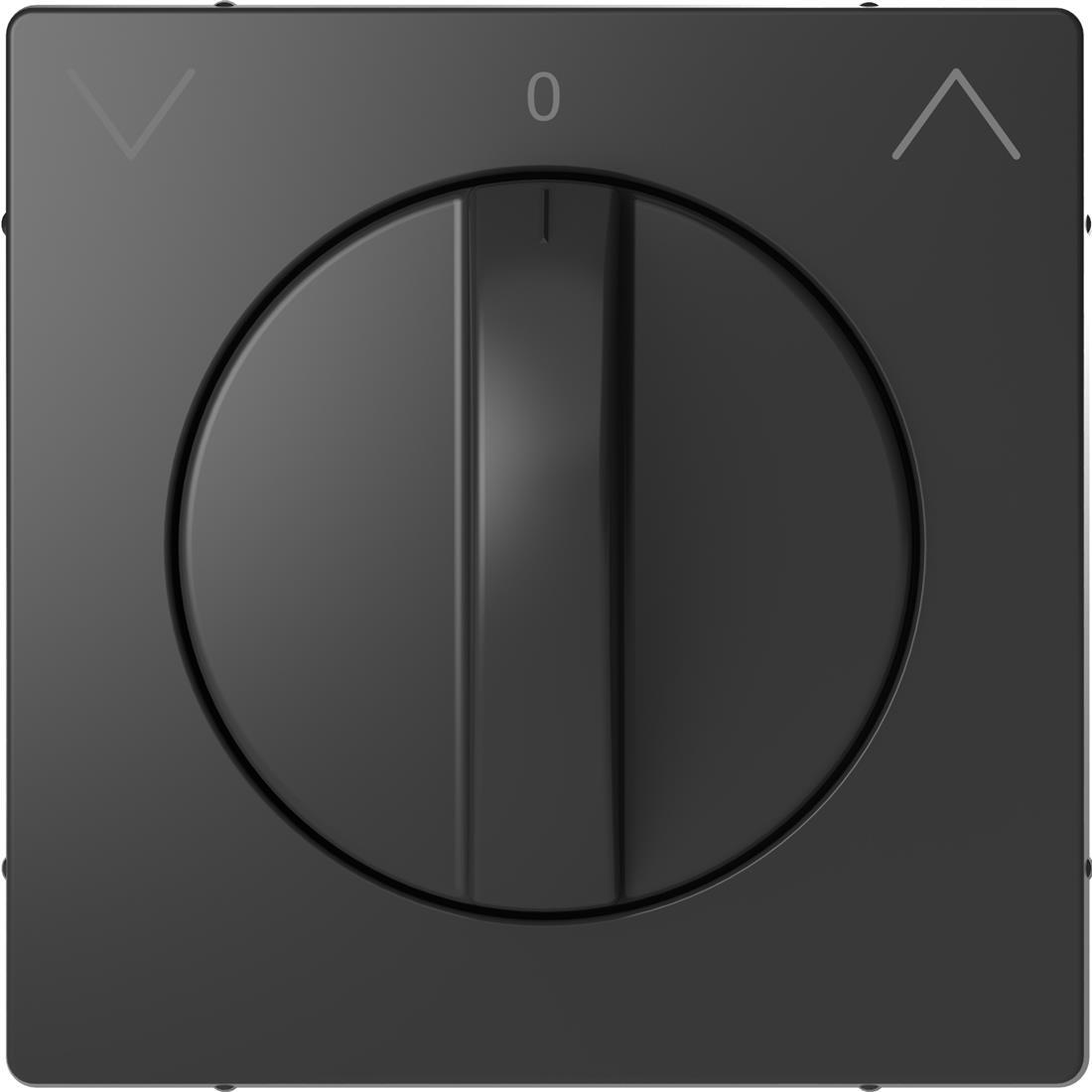 Schneider-Merten D Life centraalplaat voor draai-jaloezieschakelaar - antraciet (MTN3875-6034)