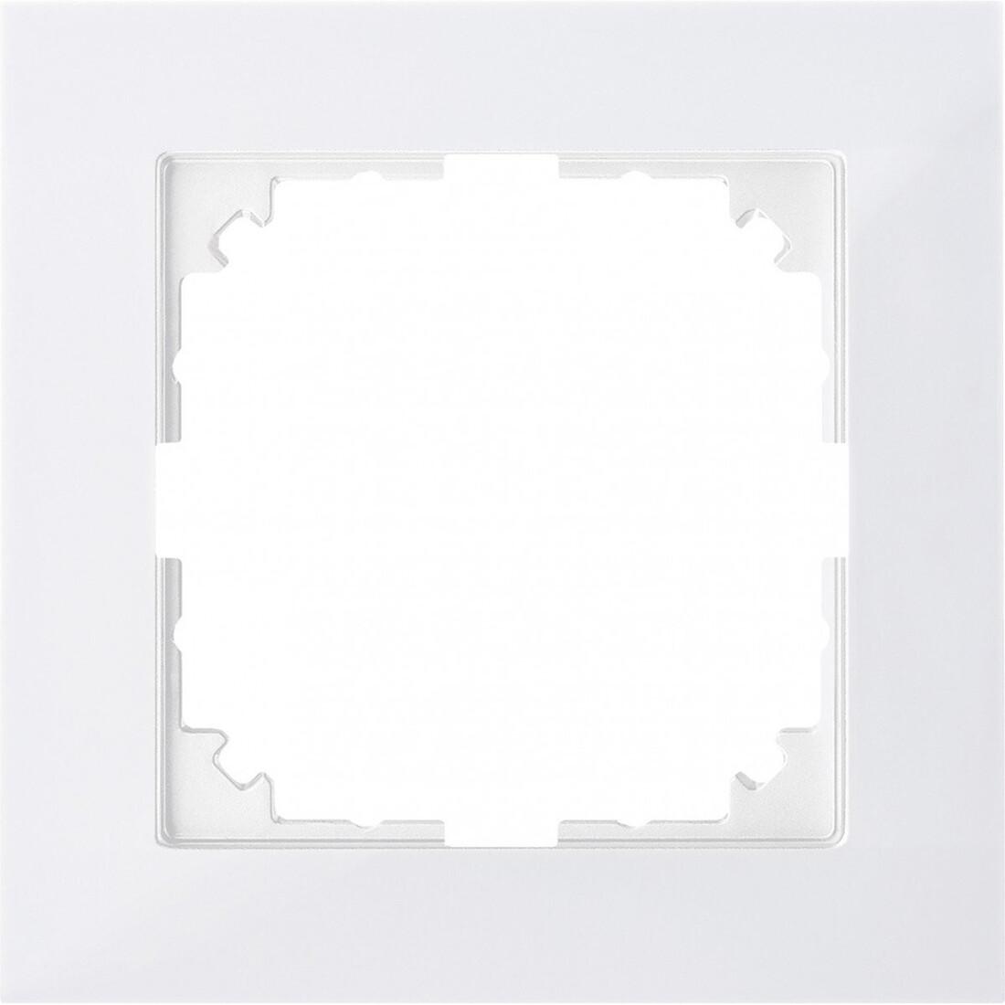 Schneider Electric Merten M-Pure 1-voudig afdekraam - polarwit glanzend (MEG4010-3619)
