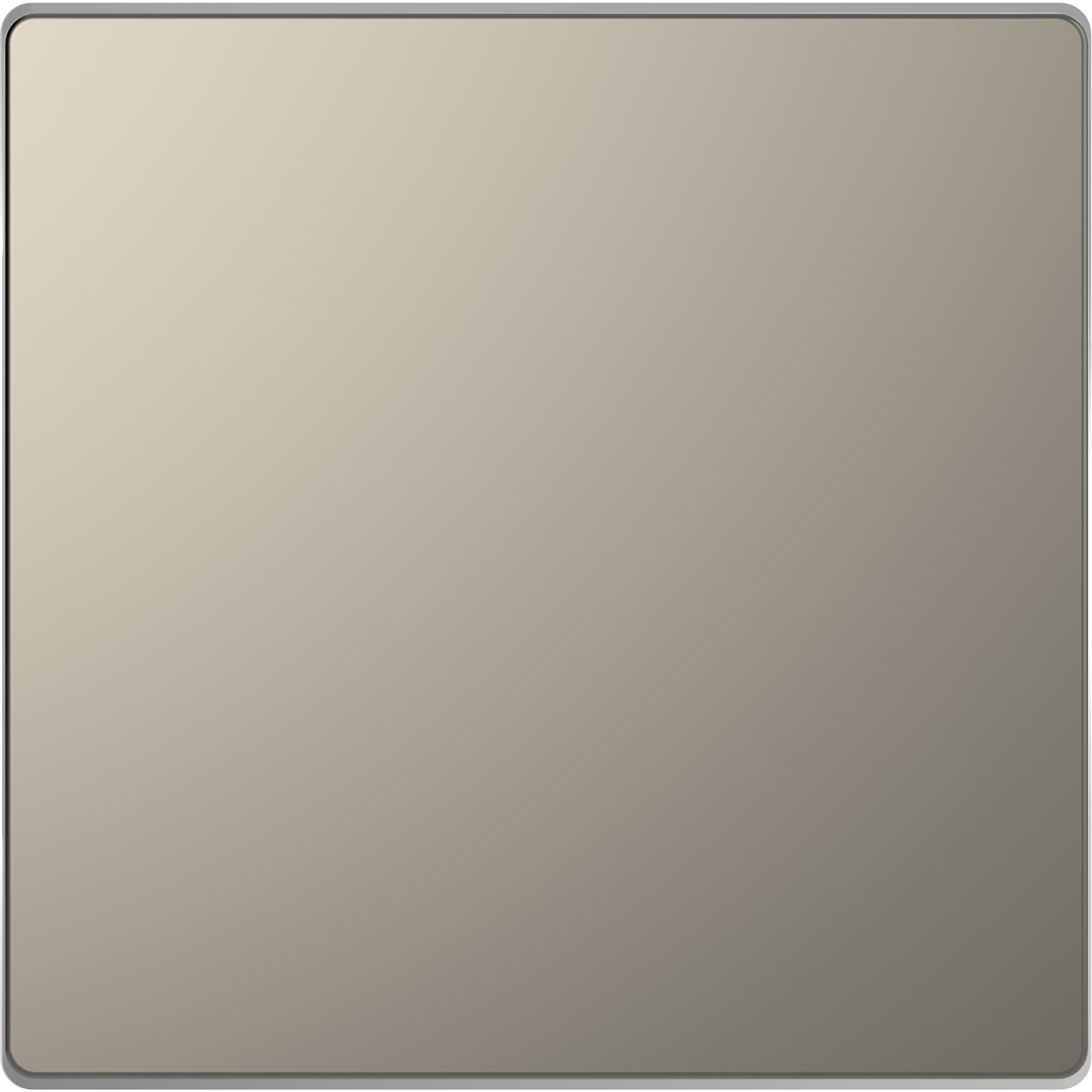 Schneider-Merten D Life blindplaat - nikkel metallic (MTN4075-6050)