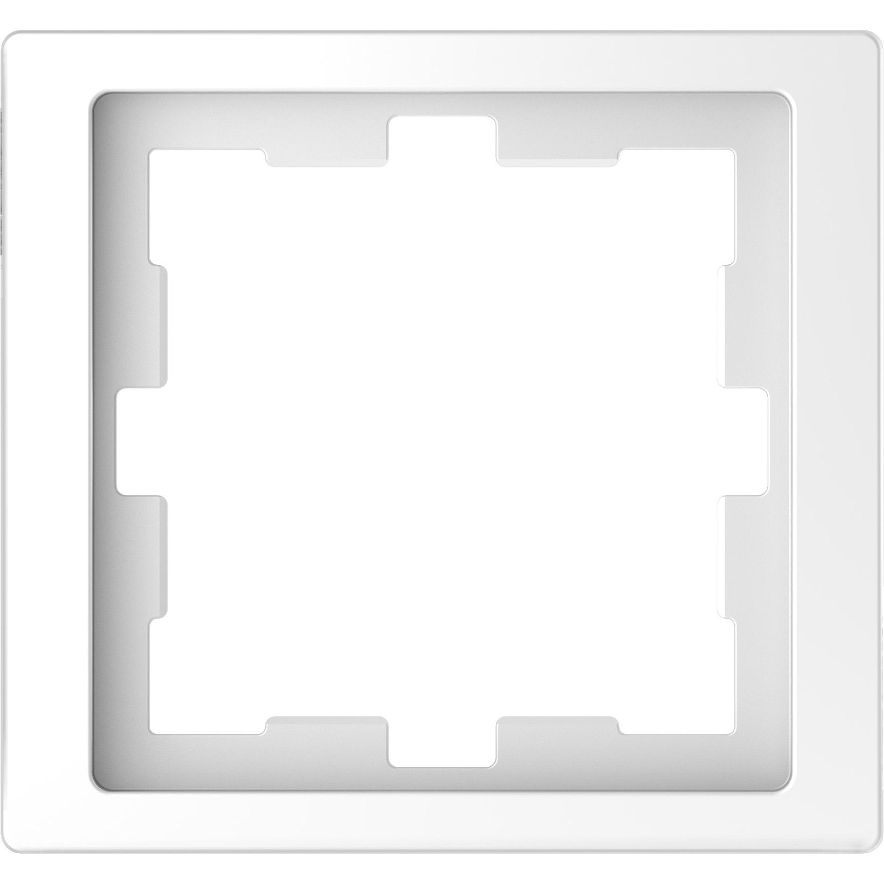 Schneider-Merten D Life afdekraam 1-voudig - lotuswit (MTN4010-6535)