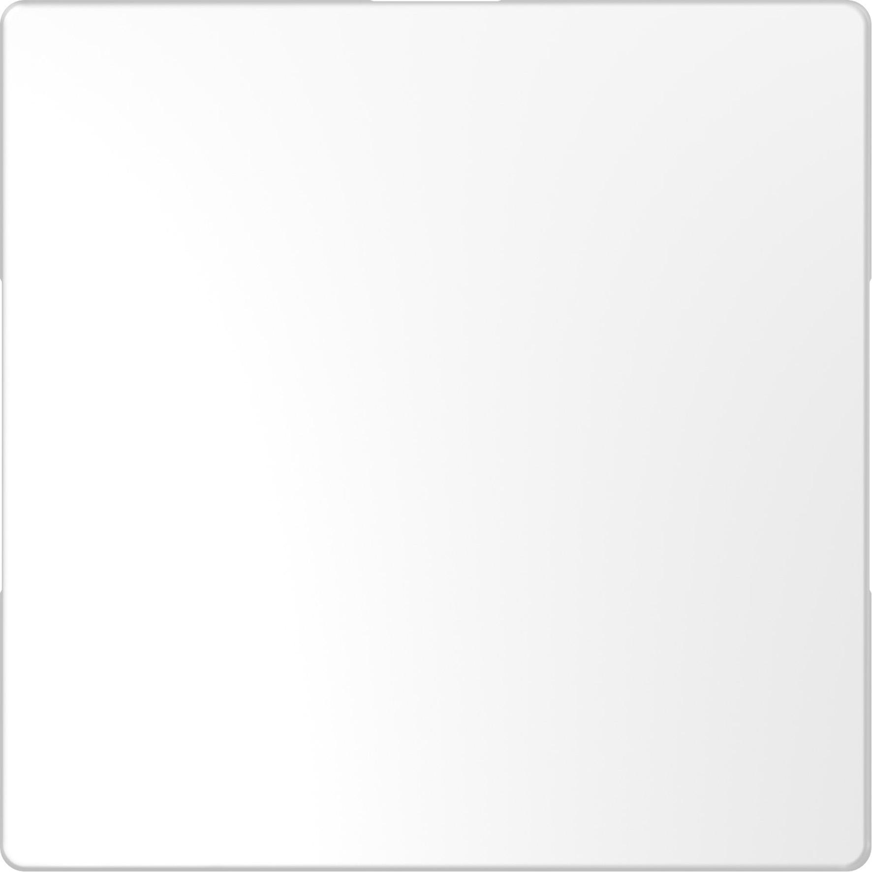 Schneider-Merten D Life blindplaat  - lotuswit (MTN4075-6035)