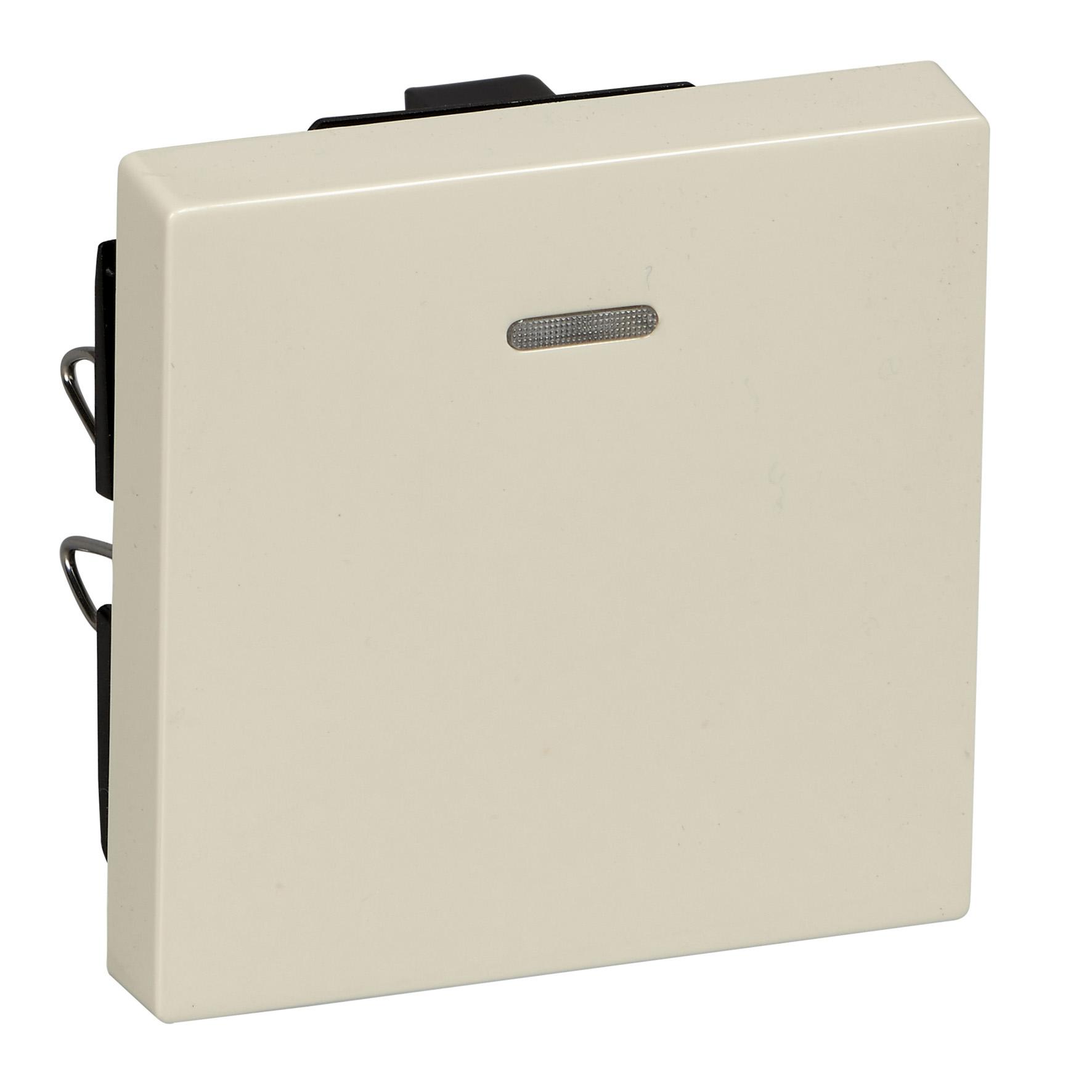 Schneider-Merten systeem M wip met controlevenster - wit glanzend (MTN436044)