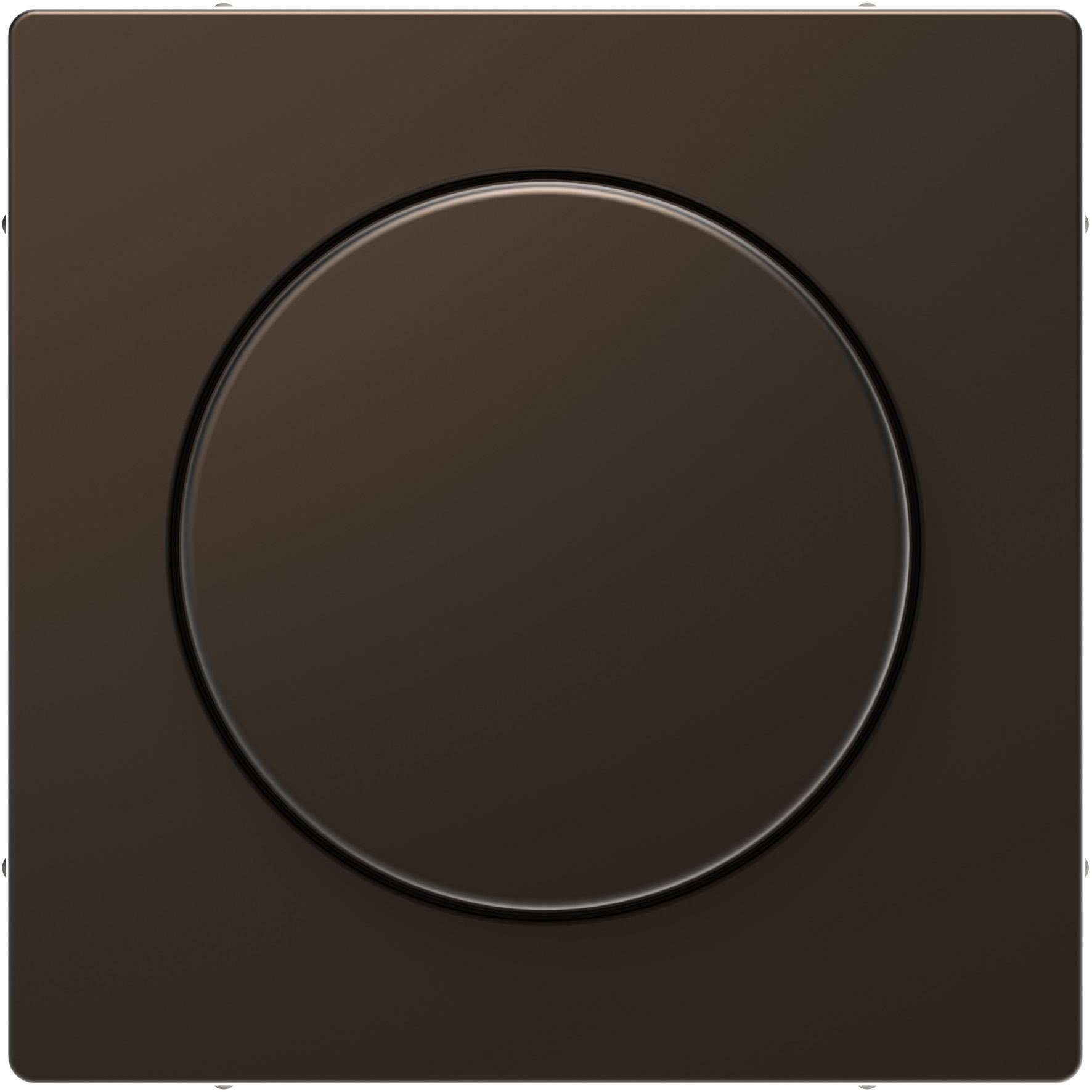 Schneider-Merten D Life centraalplaat met draaiknop - mocca metallic (MTN5250-6052)
