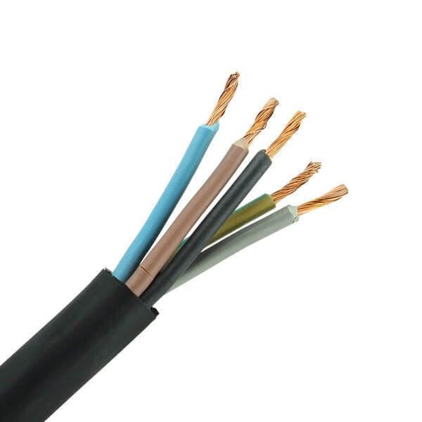 Neopreen kabel H05RR-F 5x0,75 haspel 500 meter