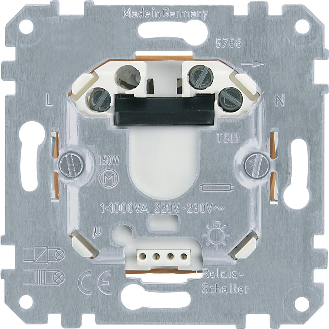 Schneider Electric Merten 576897 MER RELAISBASIS AC230V 1000VA