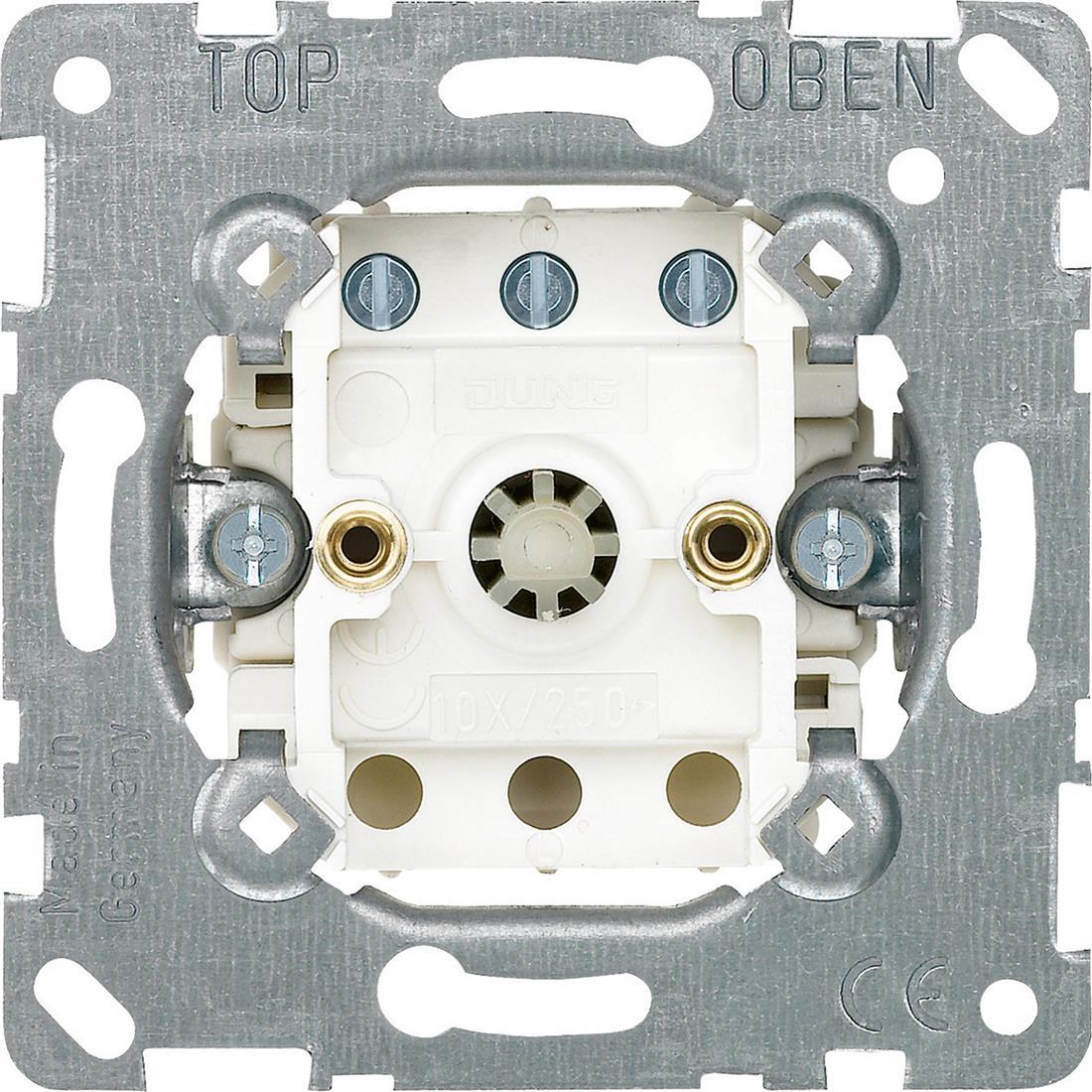 Schneider-Merten ventilatorschakelaarsokkel (MTN317100)