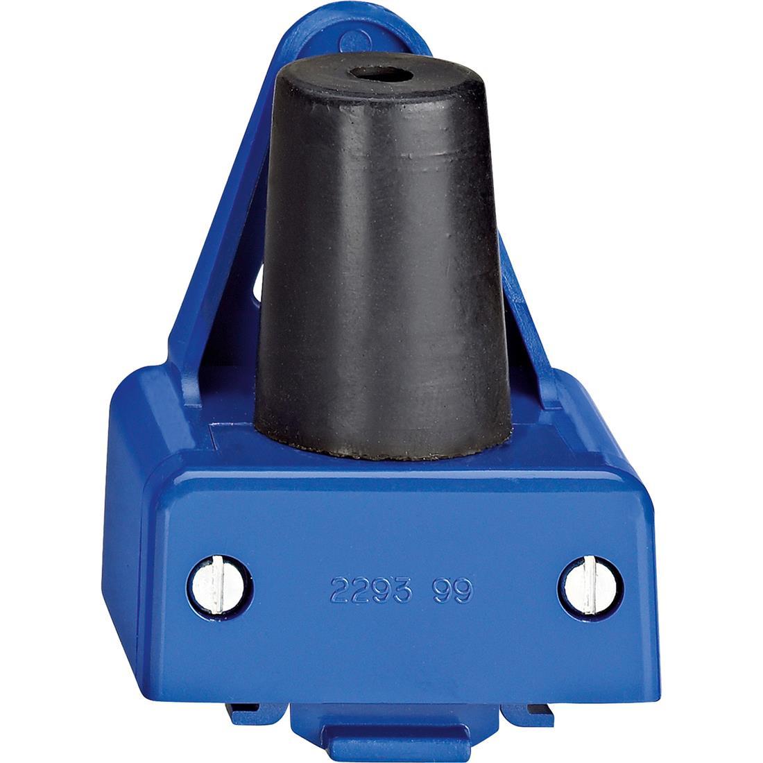 Schneider-Merten Slagvast ophangbeugel - blauw (229399)