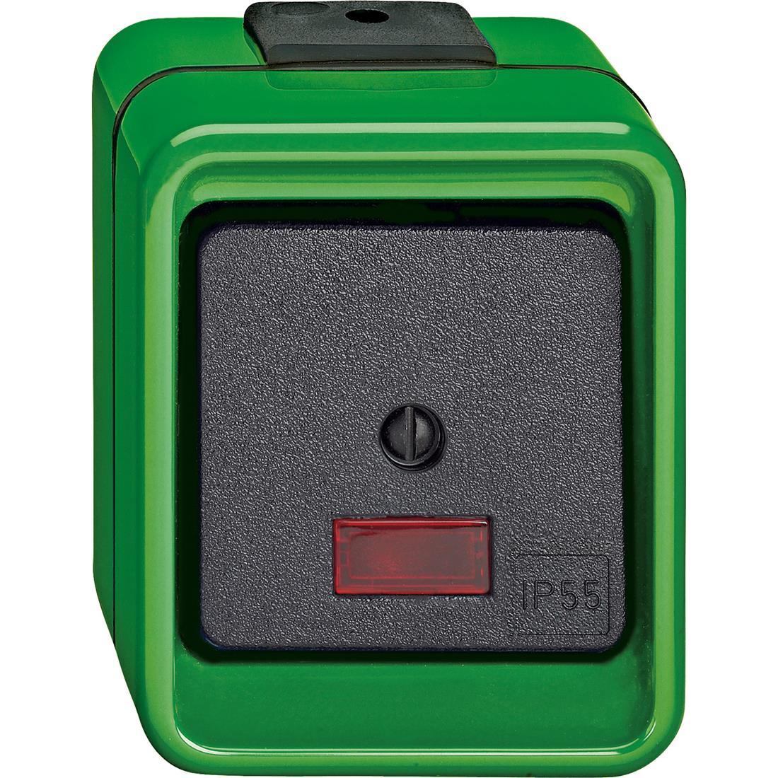 Schneider-Merten Agrar impulsdrukker wissel - groen (375977)
