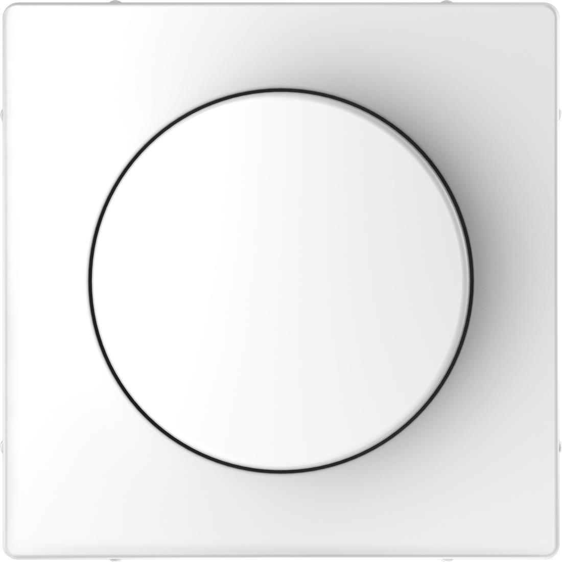 Schneider-Merten D Life centraalplaat met draaiknop - lotuswit (MTN5250-6035)