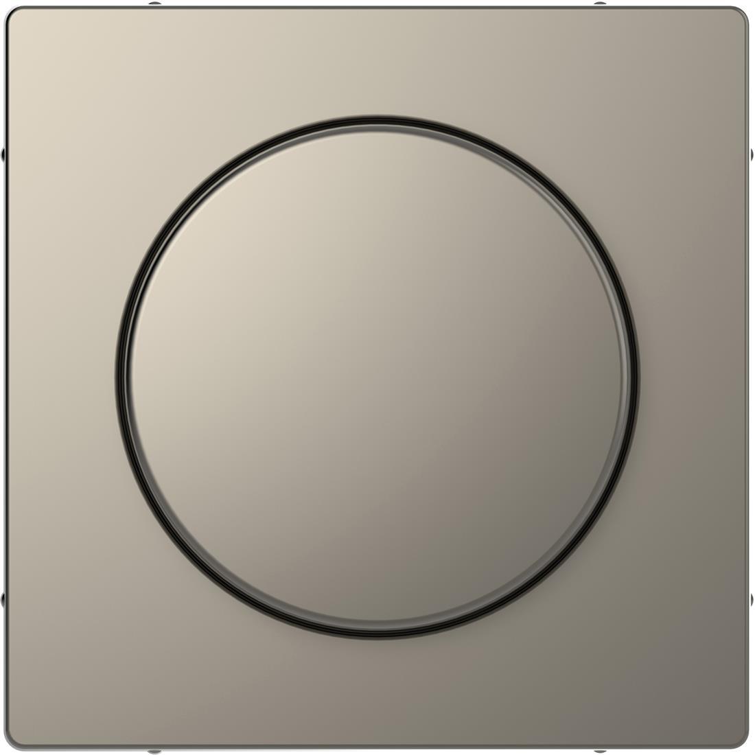 Schneider-Merten D Life centraalplaat met draaiknop - nikkel metallic (MTN5250-6050)