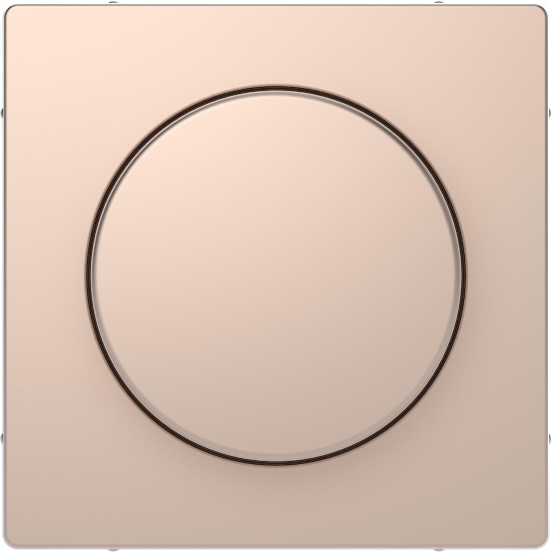 Schneider-Merten D Life centraalplaat met draaiknop - champagne metallic (MTN5250-6051)