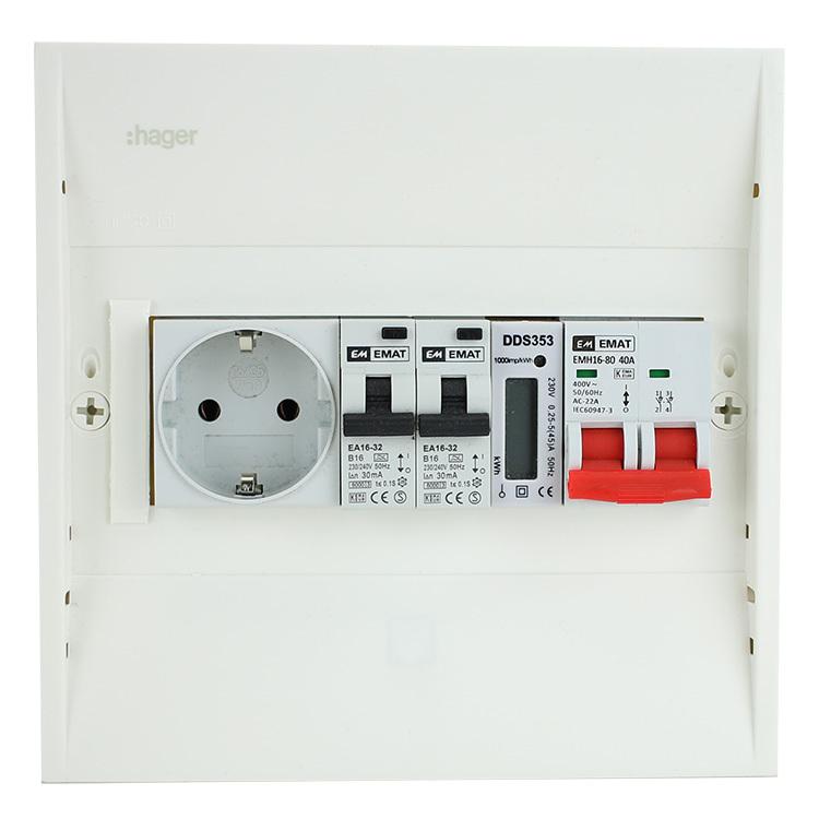 EMAT PV-VERDELER HFD/2ALA/WCD/KWH