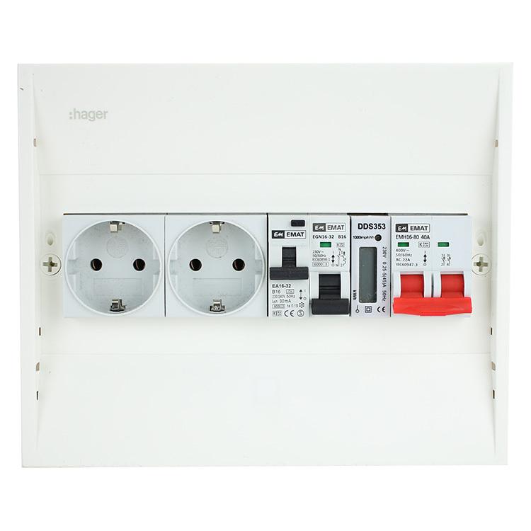 EMAT PV-VERDELER HFD/GR/ALA/2WCD/KWH