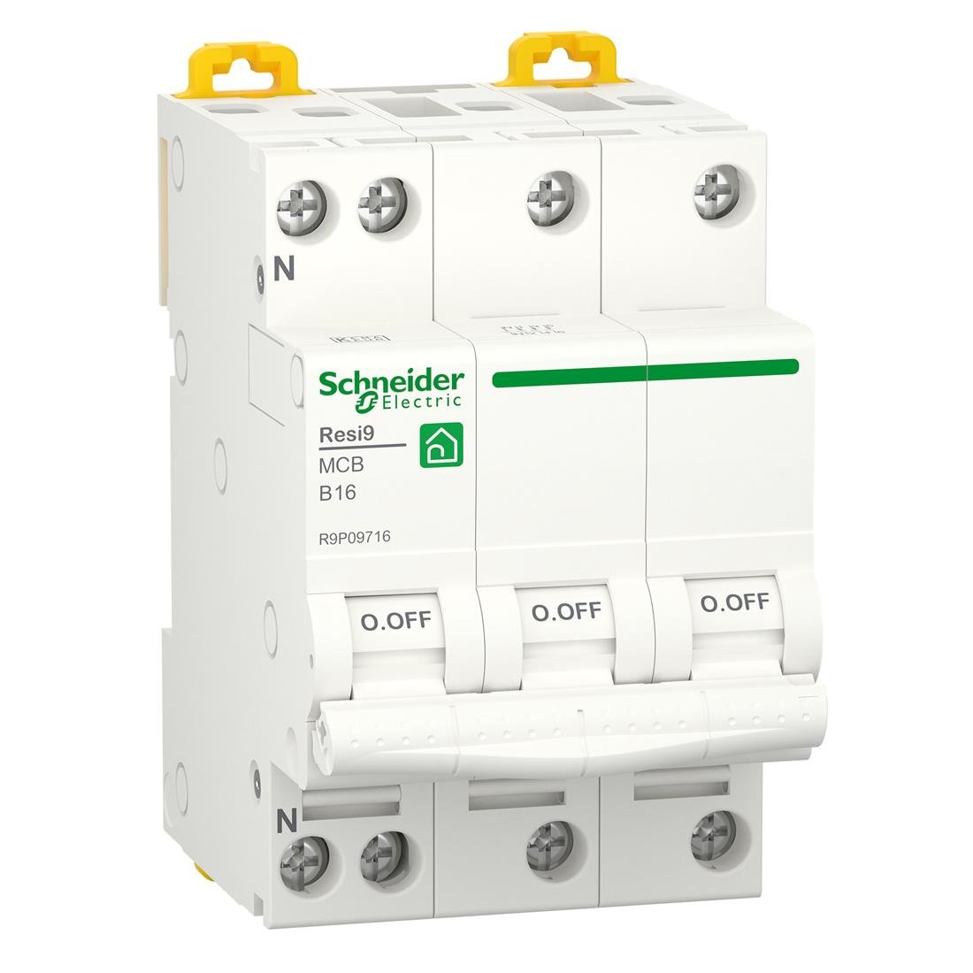 Schneider Electric krachtgroep 3-polig+nul 16A B-kar (R9P09716)