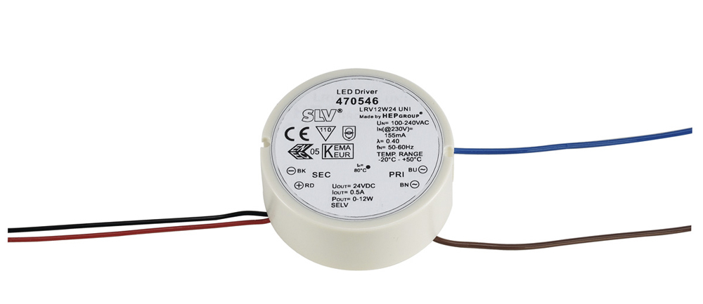 SLV 470546 SLV LEDVOEDING 12W 24V