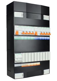 Schneider Electric groepenkast 8 groepen 220x380 (BxH) 1 fase