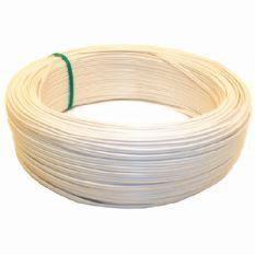 VMVL kabel 2x0,75 - afgeplat wit per rol 100 meter (16252)