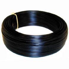 VMVL kabel 2x0,75 - afgeplat zwart per rol 100 meter (16254)
