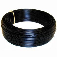 VMVL kabel 2x0,75 mm - 100 meter afgeplat zwart