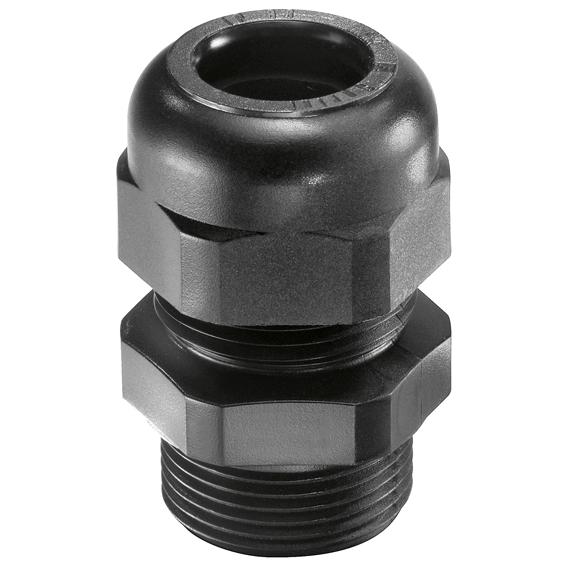 Wiska wartel PG29 doorlaat 16-25mm zwart (10066197)