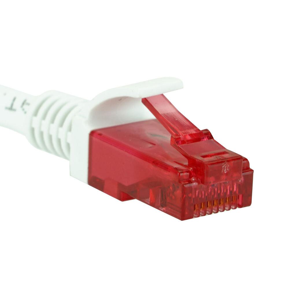 EM Electronics CAT 6 netwerkkabel 1 meter wit
