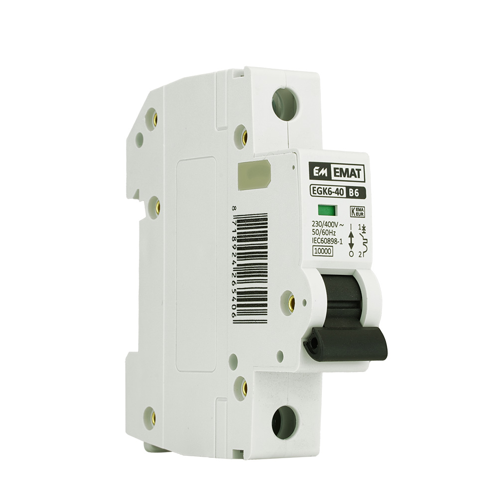 EMAT installatieautomaat 1-polig 6A B-kar