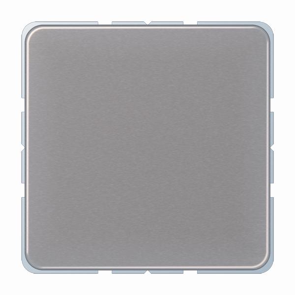 Jung (Hateha) afdekking blind klembevestiging - CD500 goud (CD594-0GB)