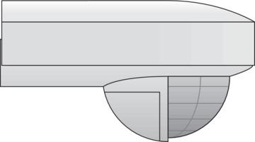 Niko 350-20050 NIK BEWEGINGSMELDER 180°/15M