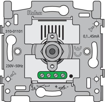Niko Basiselement - Dimmer 1-10V Druk/draai 310-01101