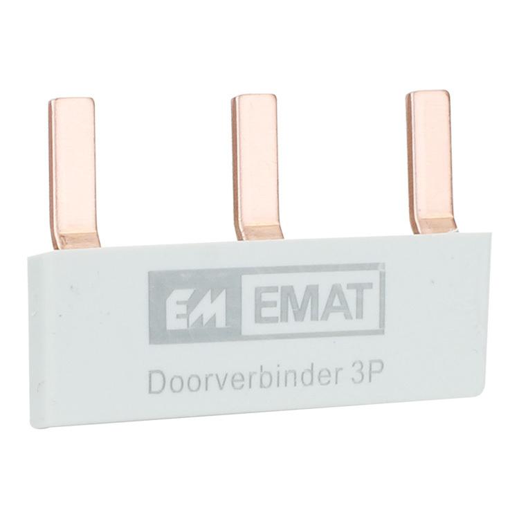 EMAT Doorverbinder 4-voudig