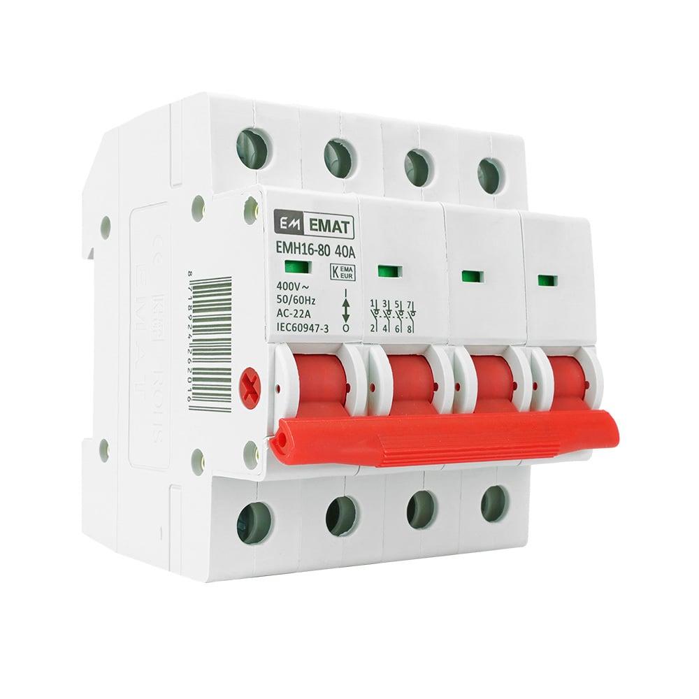 EMAT hoofdschakelaar 4-polig 40A (85005002)