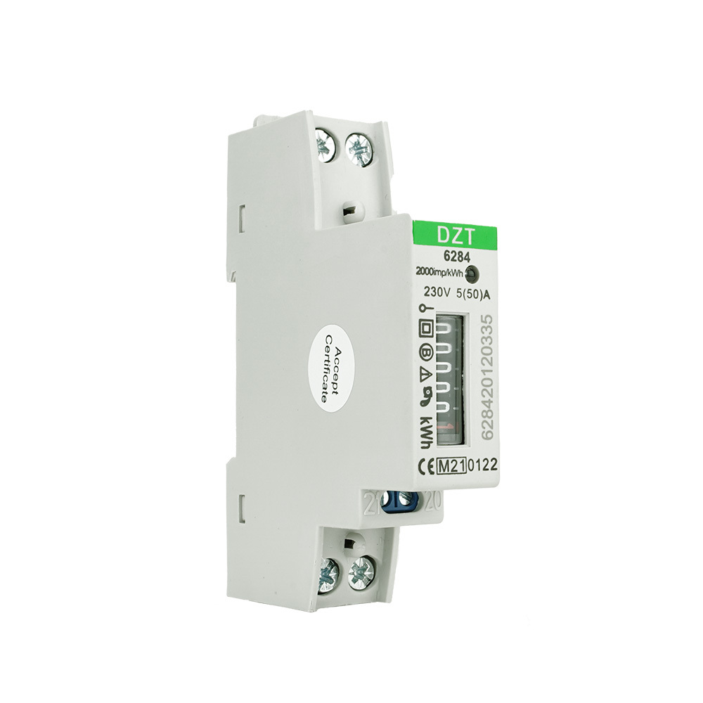 EMAT kWh meter 32A 1-fase analoog (EMATKWH1F32A)