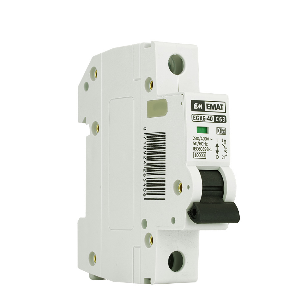 EMAT installatieautomaat 1-polig 63A C-kar