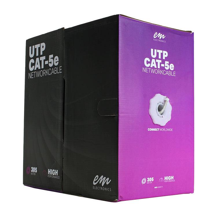 UTP CAT-5e kabel doos rol 305 meter